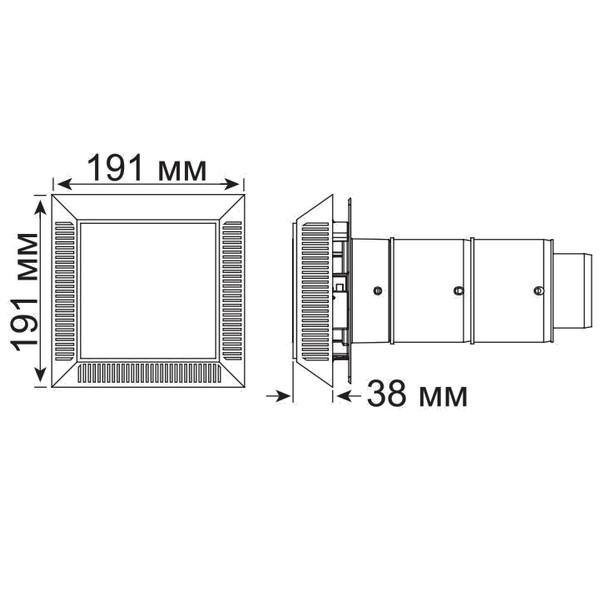 Впускная / выпускная Вентиляционнаяотдушина 102-мм